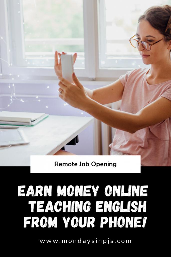 Make money teaching English online with Palfish